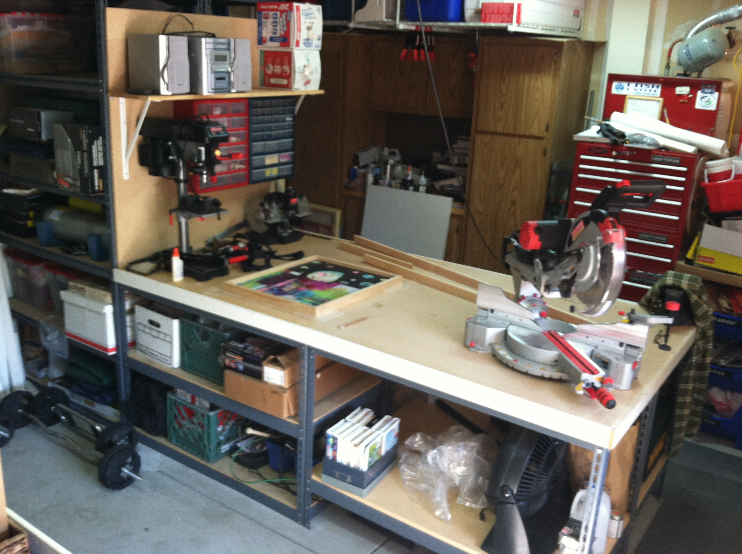 Derang: Wood workbench plans of action